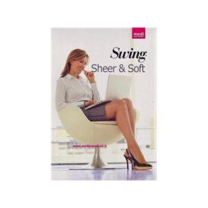 MEDI SWING SHEER & SOFT Calza Autoreggente mmHg 18 (140 Denari)